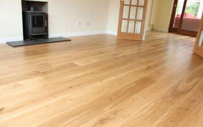 Real wood floor, laminate floor or carpeted floor?